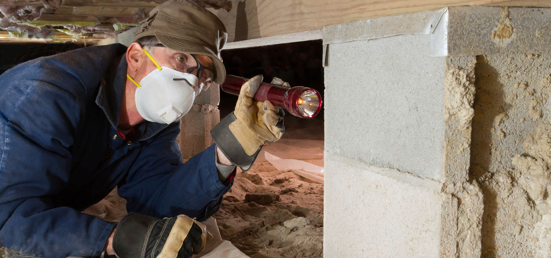 Inspect Crawl Space Under Home